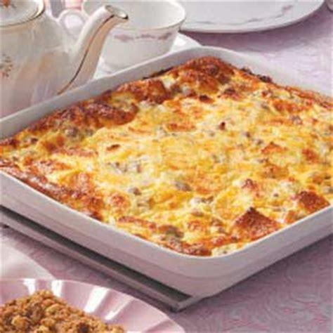 egg bake casserole recipe sausage egg casserole recipe taste of home