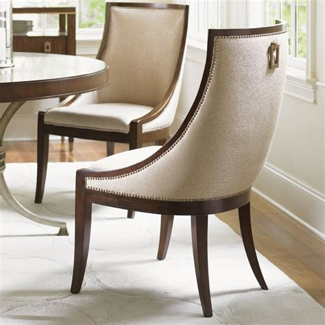 lexington tower place talbott host upholstered dining chair wayfair