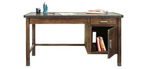 bureau bois et metal bureau design bois metal mzaol com