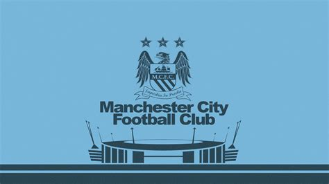Manchester City Logo Wallpaper Free Download
