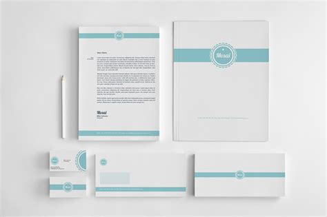 20 corporate identity template word psd indesign and ai