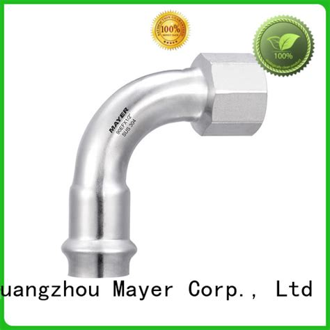 high quality elbow fitting female factory heating system