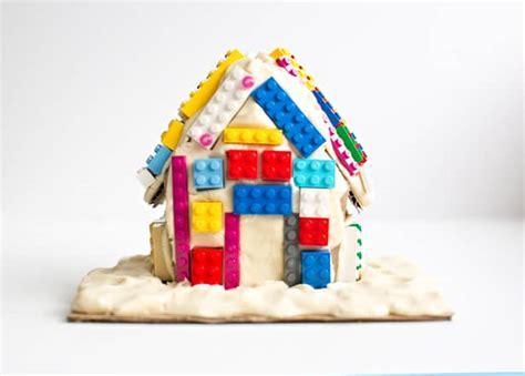 Make A Lego Playdough Gingerbread House