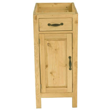 meuble de cuisine en pin petit meuble bas en pin massif de cuisine 1 porte