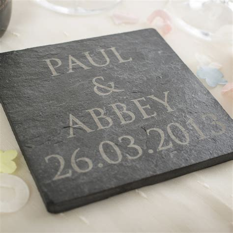 engraved slate tile engraved gifts  gettingpersonalcouk