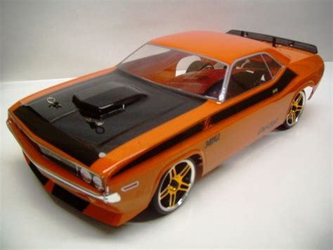 dodge challenger redcat racing epx rtr custom painted