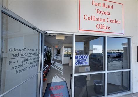 toyota center near me fort bend toyota collision center coupons near me in
