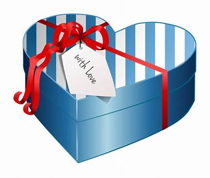 Gift Clipart Box Valentine Candy Wrapped Heart