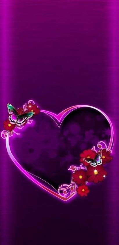 Phone Heart Screen Background Hearts