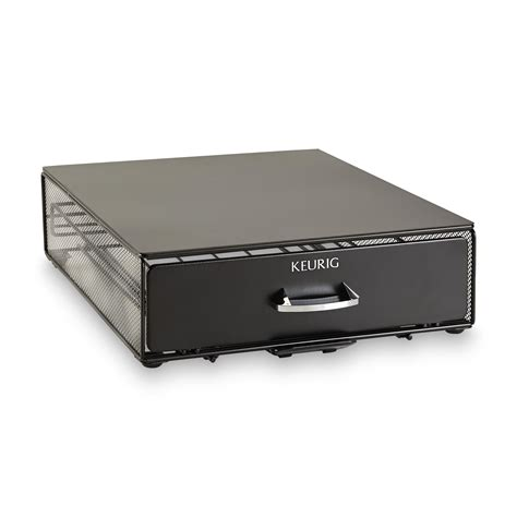 keurig storage drawer keurig brewer storage drawer appliances small