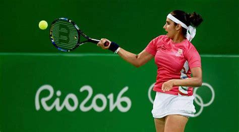 Rio 2016 Olympics Tennis, Sania Mirza-Rohan Bopanna: Match ...