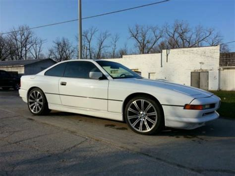 Find Used 1993 Bmw E31 850ci White Runs Good No Rust For