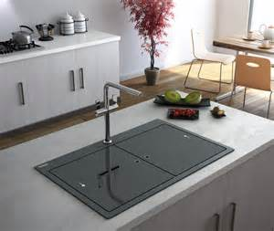 pictures of kitchen islands with sinks samoa the brand new granite sink from carron that s to keep wraps