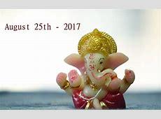 Ganesh chaturthi marathi calendar 2017 Chaturthi