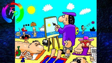 funny cartoon    time funny cartoon
