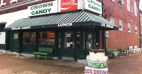 crown candy kitchen    candy store  st louis