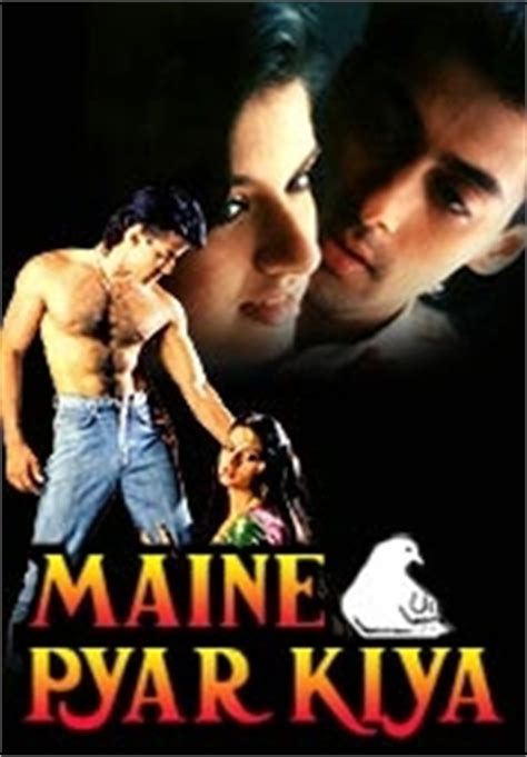 indian films  posters   film maine pyaar kiya