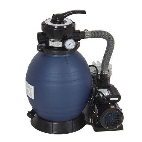 "Pro 2400gph 13"" Sand Filter Above Ground Swimming Pool"