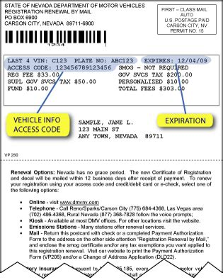 florida proof of vin form nevada dmv vehicle registration renewal
