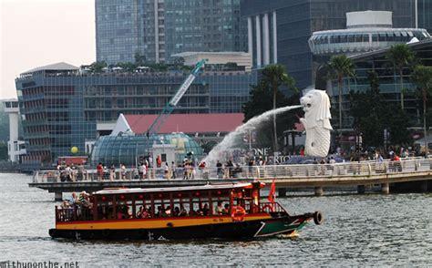 Boat At Marina Bay by Singapore Mithun On The Net