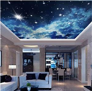 Star ceiling murals 3d stereo personalized custom ...