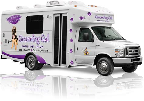 Mobile Groomers by Mobile Benefits Grooming Gal Mobile Pet Salon