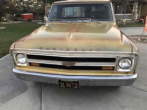 1968 Chevrolet C10  K10 Pickup Brown Rwd Manual
