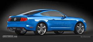 2015 Ford Mustang Rear End Exposed by New Renderings - autoevolution