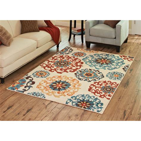 Better Homes And Gardens Suzani Rug colorful area rug better homes and gardens suzani area