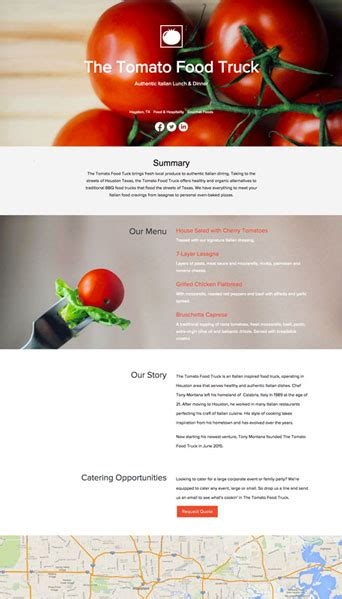 One Pager Template How To Create A Company One Pager Xtensio