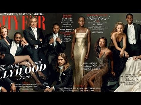 george clooney vanity fair george clooney and poke at gwyneth