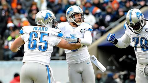 detroit lions home   opponents determined