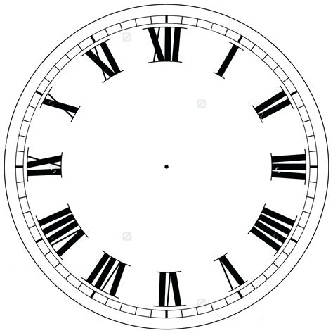 Clock Template Clock Template For Teaching Time