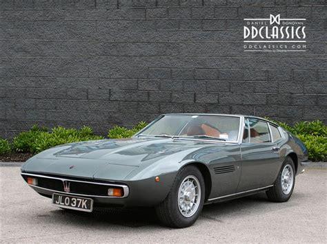 Classic Maserati For Sale by Classic Maserati Ghibli 4 7 Coupe Rhd For Sale Classic
