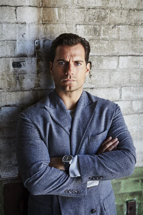 Mission Impossible Star Henry Cavill for Prestige Hong ...