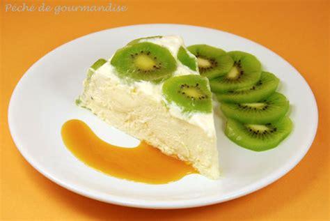 dessert avec des kiwis bavarois aux kiwis et 224 la vanille coulis orange p 233 ch 233 de gourmandise