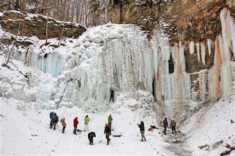 winter toronto tiffany falls surreal sports wonders play months ago blogto near explore
