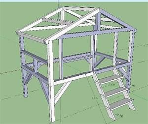Construire Un Lit Cabane : plan cabane en bois pdf ~ Melissatoandfro.com Idées de Décoration