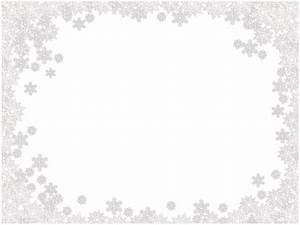 Snowflakes border frame PNG image - PNG image with ...