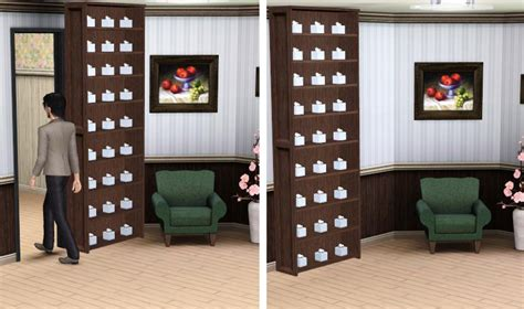 Moving Bookcase Door by Mod The Sims Sliding Bookcase Quot Door Quot Up To 27