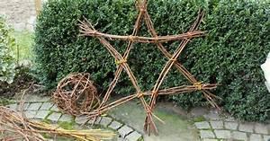 Mein Schöner Garten Weihnachtsdeko : weihnachtsdeko stern aus zweigen mein sch ner garten ~ Markanthonyermac.com Haus und Dekorationen