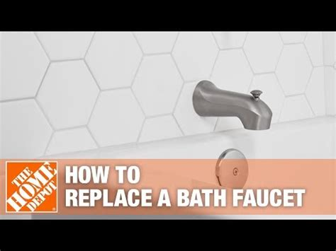 how to replace shower how to replace a bathtub faucet