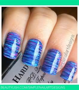 Fan brush striped nails simplenailartdesigns s