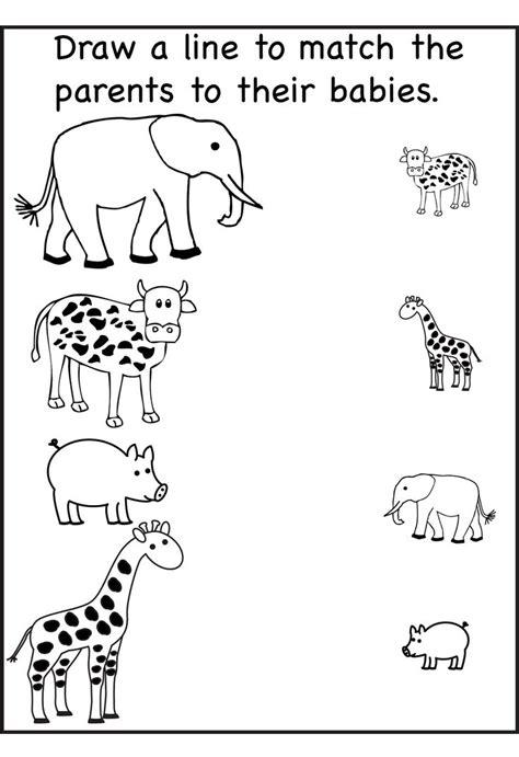 fun  effective worksheet  nursery class