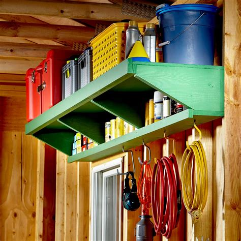 cheap garage storage projects   diy family handyman