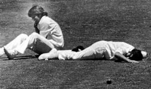Five nasty on-field collisions in cricket history ...