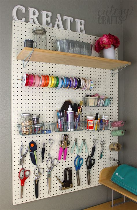 Easy Craft Room Ideas  Cutesy Crafts