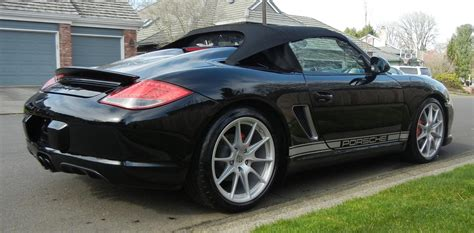 2011 Porsche Boxster Spyder S