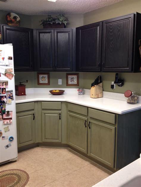 green painted kitchen cabinets 56 best images about kitchen islands on Olive