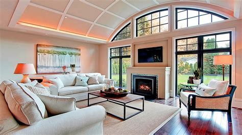 Amazing Living Room With Tv Above Fireplace Design Ideas